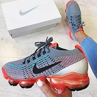 Nike Air VaporMax Flyknit 3.0 Popular Men Breathable Air Cushion Sport Running Shoes Sneakers