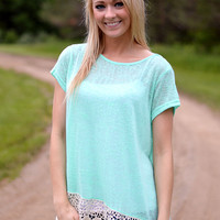 Sammie Top - Turquoise