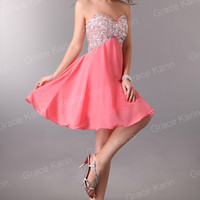 Tube Sweetheart Mini Party Short pageant Dress Homecoming Bridesmaid Prom Gowns