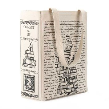 Commit to Lit Book Tote
