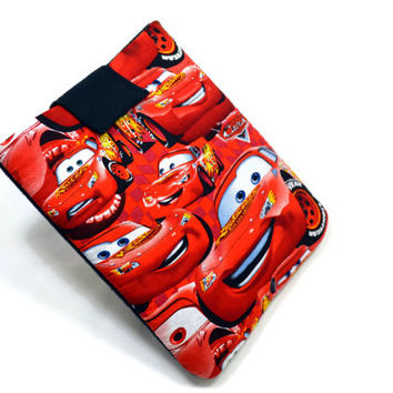 "Hand Crafted Tablet Case from Cars Fabric/ Tablet Case For  Kindle Fire HD "" ,i Pad Mini,Nook HD 7, Samsung Galaxy 7"