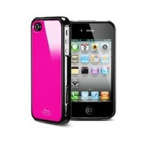 SPIGEN SGP iPhone 4 / 4S Case Linear Color Series [Fantasia Hotpink]-Steinheil Ultra Crystal Screen Protector Included