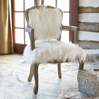 Ooh La La Faux-Fur Chair