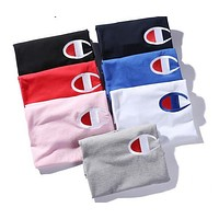 Summer Europe and the United States tide brand champion palace men and women round neck cotton short sleeve T couple casual bottomi