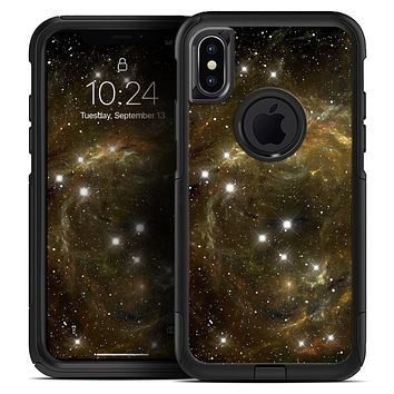 Glowing Gold Universe - Skin Kit for the iPhone OtterBox Cases