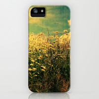 Counting Flowers Like Stars - Color Version iPhone & iPod Case by Olivia Joy StClaire