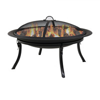 Portable Camping Fire Pit with Carrying Case
