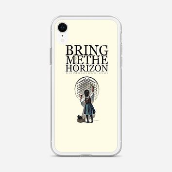 Bring Me The Horizon Owl Poster iPhone XR Case