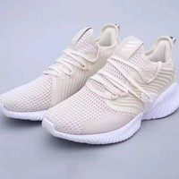 ADIDAS alphabounce instinct stylish men's wavy chunky sneakers