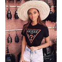 Guess Hot letters print T-shirt-7