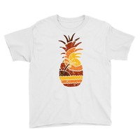 pineapple and beach Youth Tee