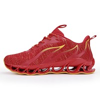 New Outdoor Free Running For Jogging Walking Sports Shoes High Quality Lace-up Athietic Breathable Blade Sneakers