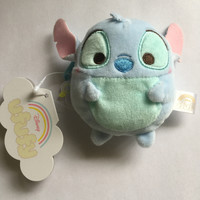 Disney Store Japan Stitch Ufufy Scented Small Coin Purse Plush New with Tags