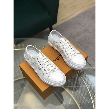 lv louis vuitton men fashion boots fashionable casual leather breathable sneakers running shoes 90