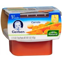 Gerber 1st Foods NatureSelect Baby Food, Carrots