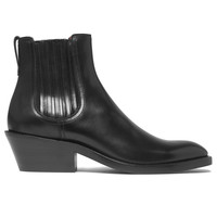 Givenchy - Cuban-Heel Leather Chelsea Boots