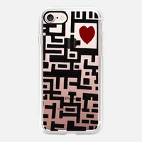Love Labyrinth iPhone 7 Case by Barruf | Casetify