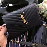 YSL Fashionable envelope-chain small bag versatile one-shoulder cross-body bag for women