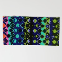 Eva Spot Dark Beach Towel by Aimee St Hill