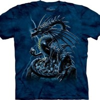 Skull Dragon The Mountain Adult T-shirt 2XL