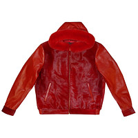 G-Gator - 2054 Hooded Pony Hair/Lambskin Hooded Jacket