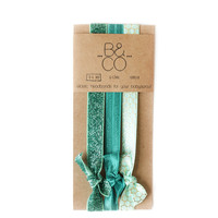 Headband Set in Jade