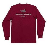 Long Sleeve Trademark Duck Tee by Southern Marsh