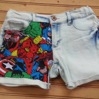 Marvel comics shorts