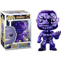 Funko POP! Marvel Avengers Infinity War - Thanos [Purple Chrome] #289