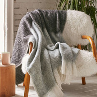 Wooly Fringe Throw Blanket - Urban Outfitters