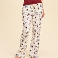 Gilly Hicks Flare Flannel Sleep Pant
