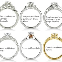 disney princess rings - Google Search