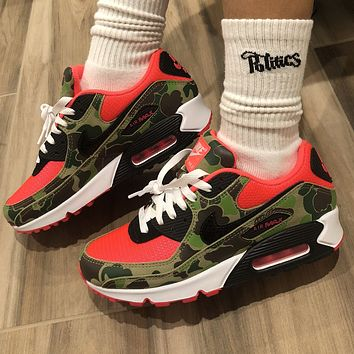 Nike Air Max 90 Reverse Duck Camo Sneakers Shoes