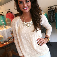 Feel The Breeze {Cream Blouse}