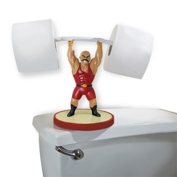 The Great Gluty S. Maximus Toilet Paper Holder