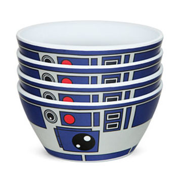 Star Wars R2-D2 Bowls - Set of 4