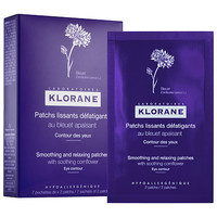 Klorane Smoothing and Relaxing Patches with Soothing Cornflower (7 sachets x 2 patches)