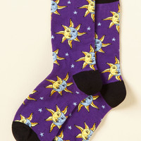 Two-Face Your Past Socks | Mod Retro Vintage Socks | ModCloth.com