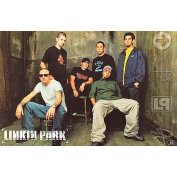 """Poster: Linkin Park 2001 Band (22""""x34"""")"""