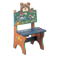 Teamson Kids- Safari Bear Time Out Chair-W-5714B