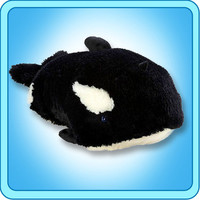 "NEW MY PILLOW PETS  LARGE 18"" SPLASHY WHALE TOY GIFT"