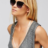 Free People Dolce Vida Cat Eye Sunglass