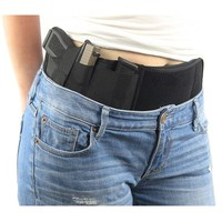 Neoprene Concealed Carry Ultimate Belly Band Holster Gun Pistol Holsters Right Hand Design Fits for Glock 17,19 ,Ruger LCP etc