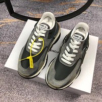 Balenciaga Women's Leather Triple S 2.0 Sneakers Shoes