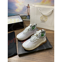 2021 Versace Man Fashion WHITE Multicolor Sneakers Stitching Leisure Sneakers Sport Shoes 38-46