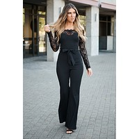 Wish Come True Jumpsuit (Black)