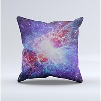 The Supernova ink-Fuzed Decorative Throw Pillow