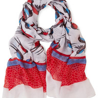 ModCloth Bird Chirp and At 'Em Scarf