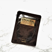 D'RAN Charcoal Pore Black Mask [EXP 08.26.2019]