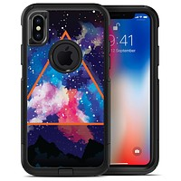 Trilateral Eternal Space - iPhone X OtterBox Case & Skin Kits